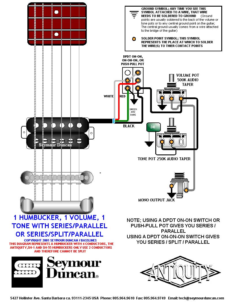 wiring diagram one humbucker one volume one tone wiring wiring diagram one humbucker one volume wiring on wiring diagram one humbucker one volume 1 volume 1 tone